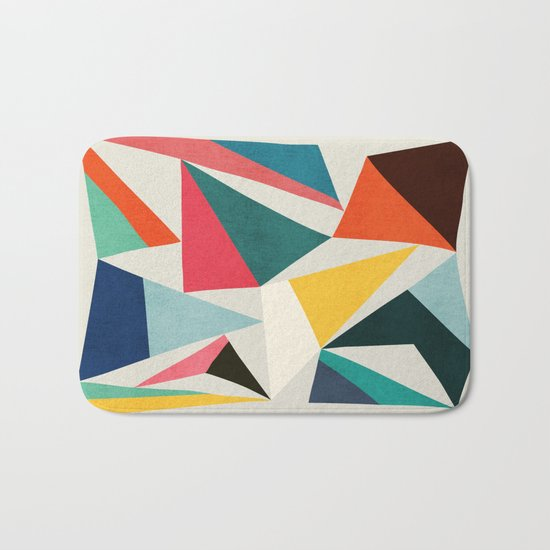 Collection of pointy summit Bath Mat