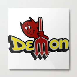 Dodge Demon Metal Print