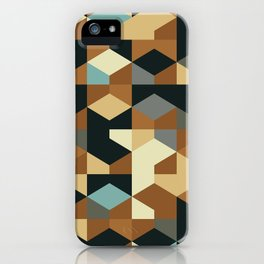 Abstract Geometric Artwork 54 iPhone Case