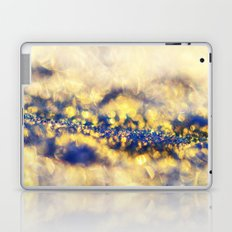 Ice Canyon in Purple and Gold Laptop & iPad Skin