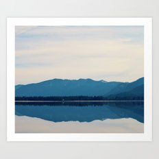 Reflecting Beauty Art Print