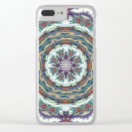 Wart Eye Pattern 2 Clear iPhone Case