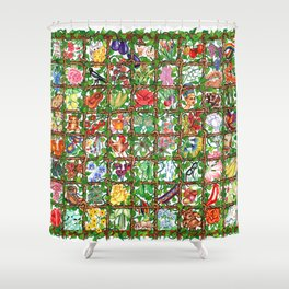 Vine O' Plenty Shower Curtain