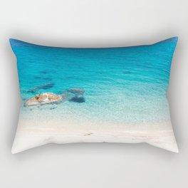 Caribbean Sea Rectangular Pillow