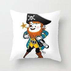 Pirate's Ahoy! Throw Pillow