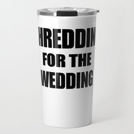 wedding Travel Mug