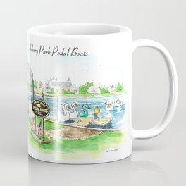 Swan Boats Coffee Mug