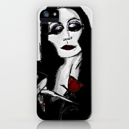 Morticia iPhone Case