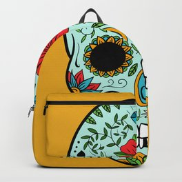 Colorful Skull V Backpack