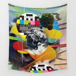 Television Art Wall Tapestry