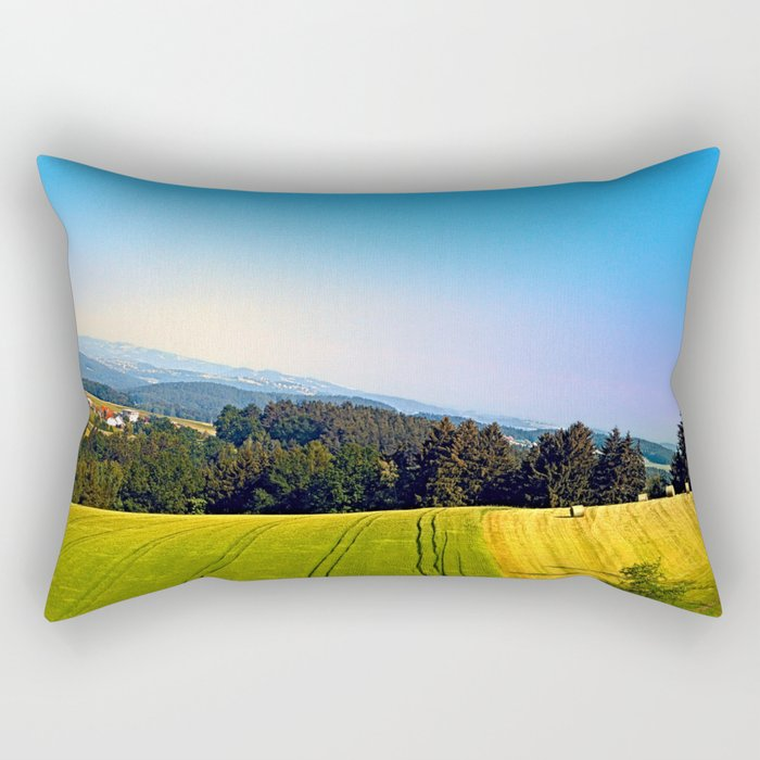 Tipping the scenery Rectangular Pillow