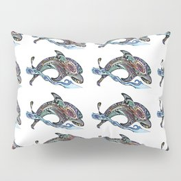 Dolphins Jumping Pillow Sham