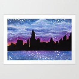 City of Stars Art Print