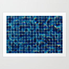 Aquares Art Print
