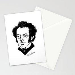 Franz Schubert Stationery Cards