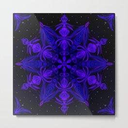 Crystal Blossom Adrift Metal Print