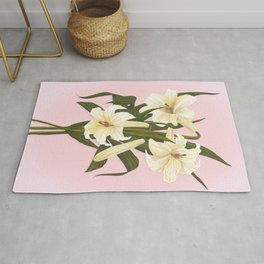 Remembrance Lilies Rug