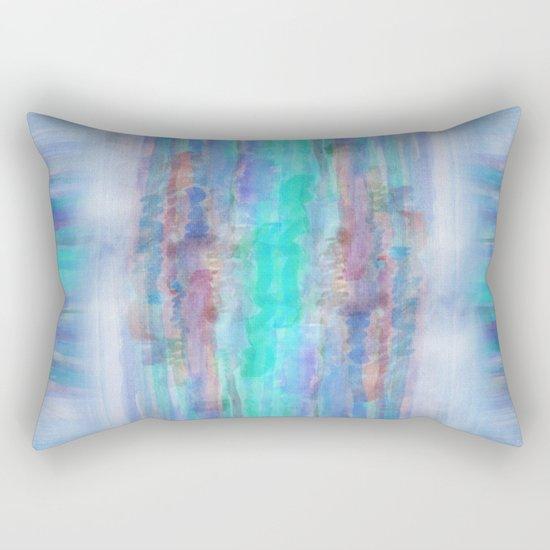 Watercolor/Abstract 1 Rectangular Pillow