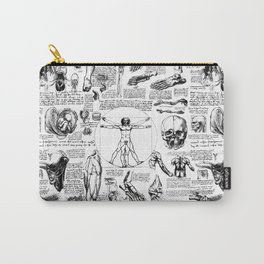 Da Vinci's Anatomy Sketchbook Carry-All Pouch