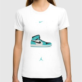 Air Jordan 1 Retro High Poster T-shirt