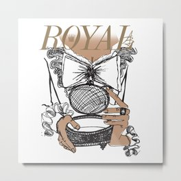 Royal Box Metal Print