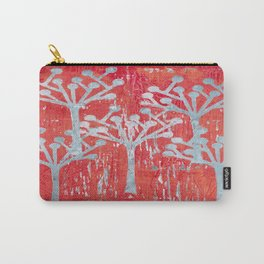 red dot tree forest Carry-All Pouch