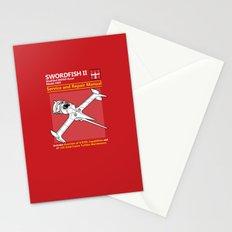 Swordfish Service and Repair Manual Stationery Cards