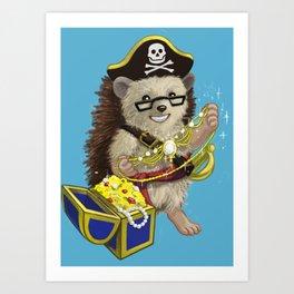Pretty Pirate Lorelei Art Print