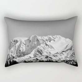 Mountain Glacier Two Rectangular Pillow
