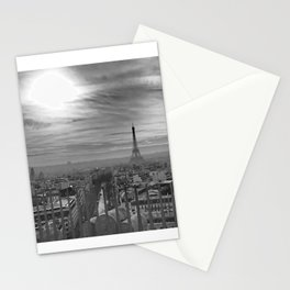 Parisian Skyline Stationery Cards