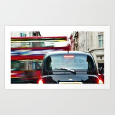 'DOUBLE DECKER' Art Print
