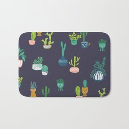 Kookie Cacti Bath Mat