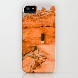 Nature's path in Bryce Canyon National Park iPhone Case