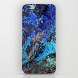 Malachite Mineral Stone rustic decor iPhone Skin