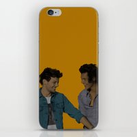 larry stylinson iPhone & iPod Skins featuring Pop Art Larry Stylinson 2 by JodiYoung