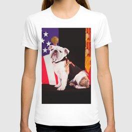 Bulldog Navy Official Mascot Dog T-shirt