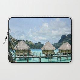 Tahitian Paradise View Laptop Sleeve