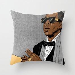 """Jay Z - """"Grey Hova"""" Throw Pillow"""