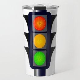 Hooded Traffic Lights Travel Mug
