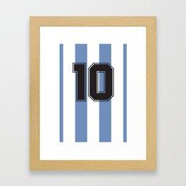 Maradona 1986 Framed Art Print
