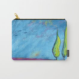 The Three Poplars Carry-All Pouch