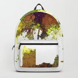 Fort Wayne, Indiana Skyline SG - Safari Buff Backpack