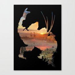 Thunderjaw [Horizon Zero Dawn] Canvas Print