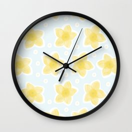 What's Up Buttercup Wall Clock