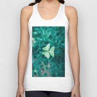 clover Tank Tops featuring Clover by Felipe Flores