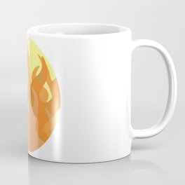 Pastel Flames Coffee Mug