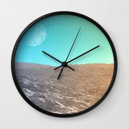Daylight In The Desert Wall Clock