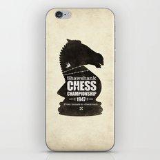 Shawshank Chess Championship iPhone & iPod Skin