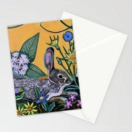 Rabbit Kickin' Back Stationery Cards