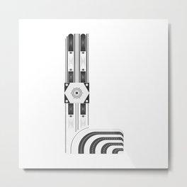 """Tao """"Letter L"""" Metal Print"""